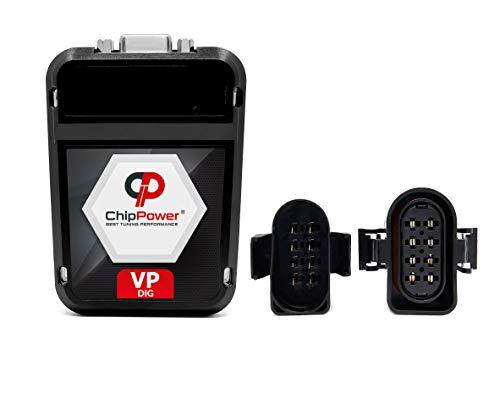 ChipPower Chiptuning VPd für GOLF IV 1.9 TDI 66/81 kW 90/110 PS 1997-2006 Leistung Chip Tuning Box Mehr Leistung Performance Diesel