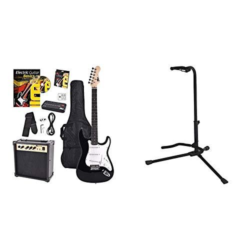 Voggenreiter EG100 E-Guitar SetSet básico con guitarra eléctrica, amplificador, guía de aprendizaje...