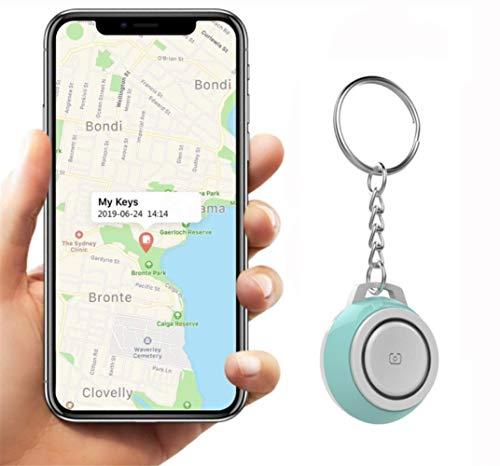 Auoeer Key Finder, Mini Bluetooth Dispositivos Tracker, perdida Anti-Chip de GPS, Controles remotos, Item Finder perseguidor Elegante, teléfono localizador, Pet Tracker.Verde (Talla : 5 Pcs)