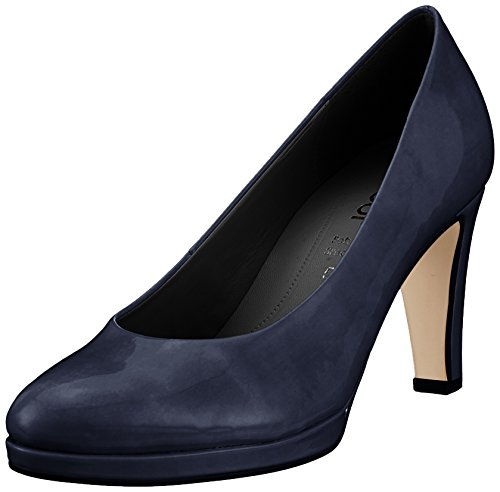 Gabor Shoes Damen Fashion Pumps, Blau (Marine (Natur), 39 EU