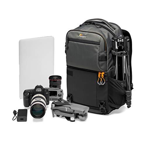 """Lowepro LP37331-PWW Fastpack PRO BP 250 AW III - Mochila para Cámara Reflex DSLR Sin Espejo, con Acceso QuickDoor, Compartimento Para Portátil de 15"""", Para Cámaras de Fotos Nikon D850, 300D Ripstop"""