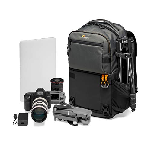 Lowepro Fastpack PRO BP 250 AW III Mirrorless and DSLR Camera Backpack - QuickDoor Access Camera Bag Insert and 15 inch Laptop Compartment - Camera Bag Backpack for Mirrorless or DSLR - 300D Ripstop