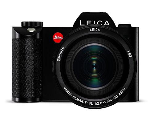 Leica SL Systemkamera (24 Megapixel, CMOS-Sensor, EyeRes-Sucher, Kontrast-Autofokus, 4K Video, WiFi) inkl. Vario-Elmarit SL 1:2,8–4/24–90mm ASPH schwarz