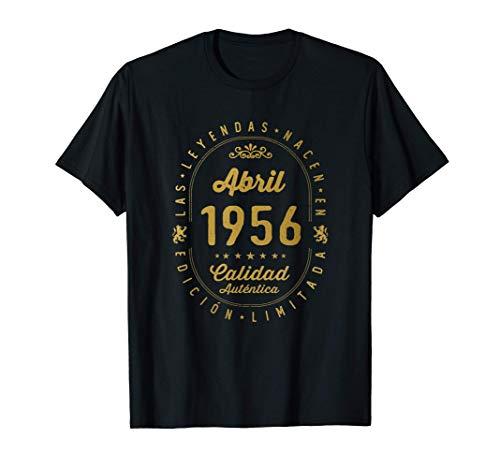65 años Cumpleaños - Las Leyendas nacen en Abril de 1956 Camiseta