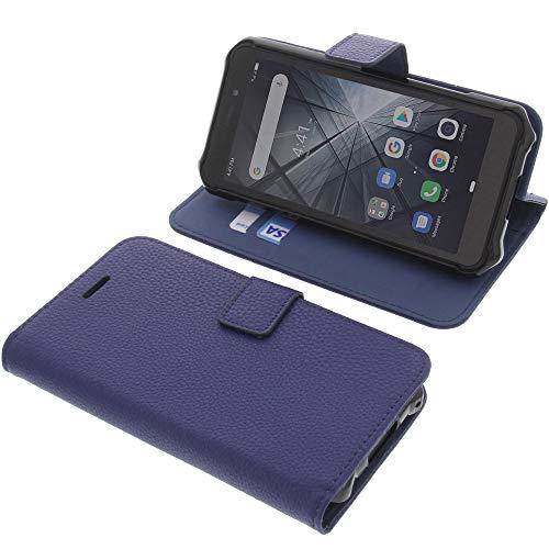 foto-kontor Funda para Ulefone Armor X5 Estilo Libro Azul Protectora
