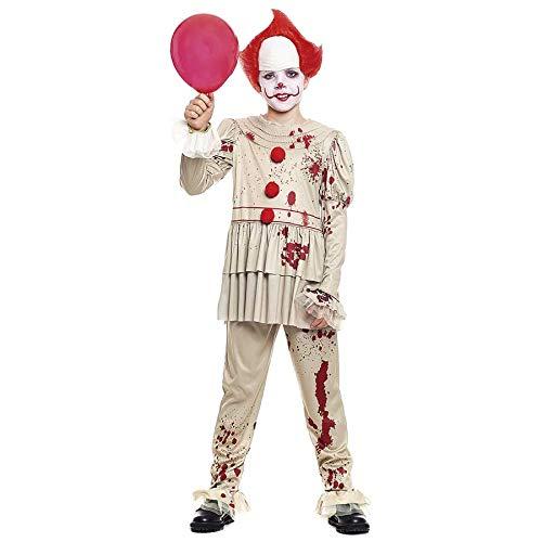Disfraz Payaso Sádico Gris Niño (7-9 años) Halloween (+ Tallas)