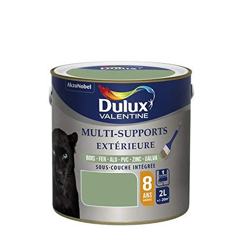 Dulux Valentine Peinture Multi-Supports Extérieure - Satin Vert Provence 2L