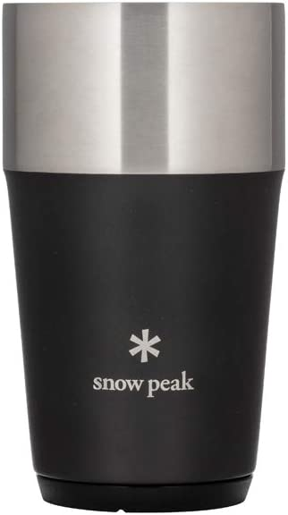 Snow Peak Shimo Tumbler 470 Free Max 90% OFF shipping on posting reviews Size One Black