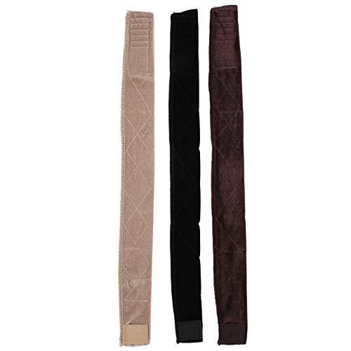Diadema de terciopelo elástico de 3 piezas para deportes Yoga Accesorios para el cabello de moda europea y americana Diadema de terciopelo de tres colores para mujer