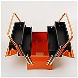 Valigetta portautensili Vuota Cassa utensili in ferro pieghevole multi-strato riparazione portatile Case elettricista per uso domestico Organizzatori hardware per uso domestico e cassapancio portatile