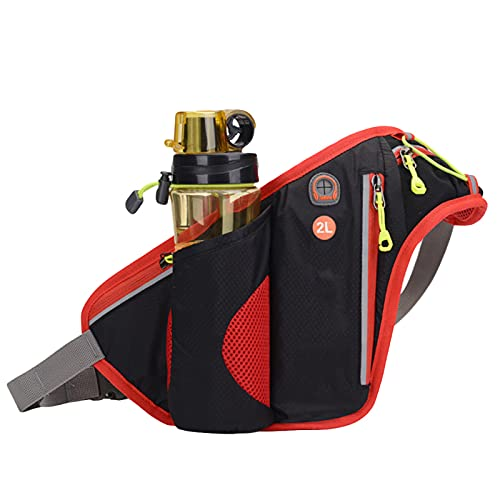 FOReverweihuajz Outdoor sports water bottle bag Running and cycling pockets Waterproof marathon equipment Cycling water bottle bag Mountaineering mobile phone bottle bag