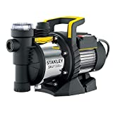 Stanley SXGP1300XFE Selbstansaugende Pumpe (1300 W, Förderleistung max. 4.500 l/h, Förderhöhe max. 50 m)