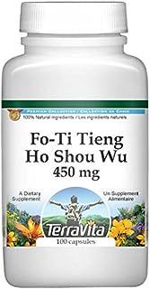 Fo-Ti Tieng - Ho Shou Wu - 450 mg (100 Capsules, ZIN: 511035)
