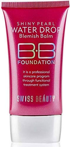 "ClubComfortâ""¢ SPF-15 BB Professional Foundation Shiny Pearl Water Drop Blemish Balm Skin Care Cream"