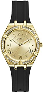 Guess Sport Watch for Women, Stainless Steel Case, Champagne Dial, Analog -GW0034L1