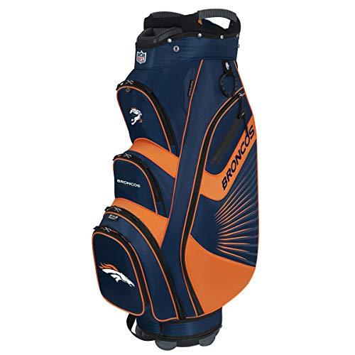 Fantastic Prices! Team Effort NFL Denver Broncos The Bucket II Cooler Cart Bag (Renewed)