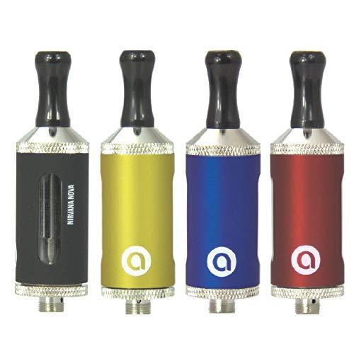 5er Pack - Aqwa – Nirvana Nova – ASPIRE ViVi Nova-S BDC Style 3.5ml – Bottom Dual Coil - Glass Pyrex Clearomizer/Verdampfer – e-Zigarette Verdampfer (Mix)