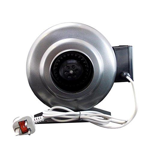 Airtech Inline Ventilateur extracteur centrifuge Corps en acier 125mm 125mm