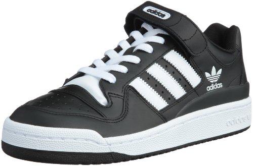 adidas FORUM LO (44 2/3, BLACK/WHITE)