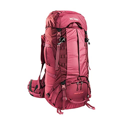 Tatonka Damen Bison 60+10 Women Rucksack, Bordeaux red, 78 x 32 x 25 cm