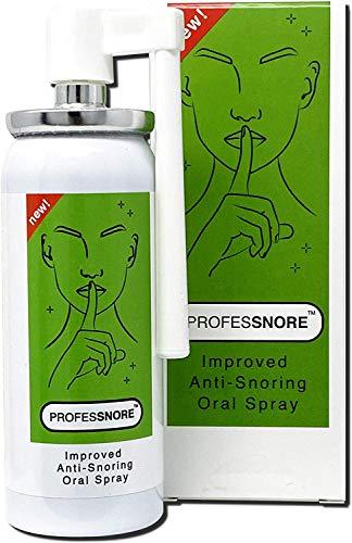 Russare Sollievo anti russare Spray Orale, Russare riduzione degli aiuti. ProfesSnore. Smettere di russare 1.69 Fl oz (50 ml) Professnore