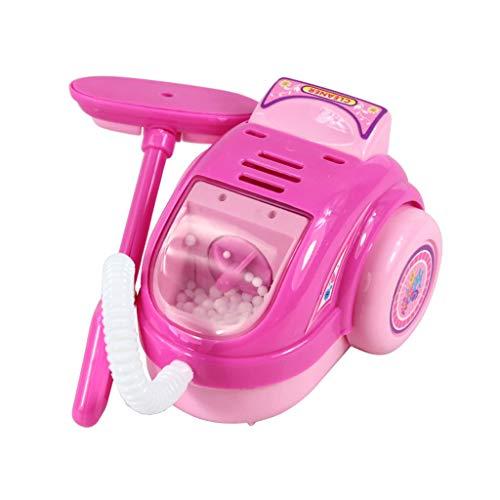 Lyguy Staubsauger Spielzeug, Kinder Kind Junge Mädchen Mini Küche Elektrogerät Staubsauger Spielzeug Set Früherziehung Dummy Haushalt Vorgetäuschte Spielhaus Geschenk