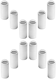 Nispira Charcoal Water Filter Replacements for Petsafe Drinkwell 360 Pet Water Fountain, 12 Filters