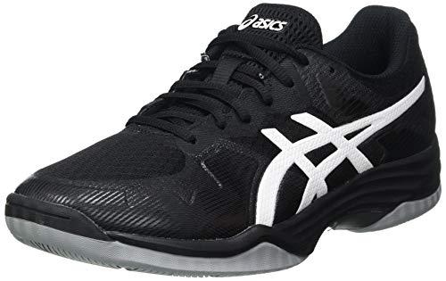 ASICS Herren Gel-Tactic Leichtathletik-Schuh, Schwarz Weiß, 44.5 EU