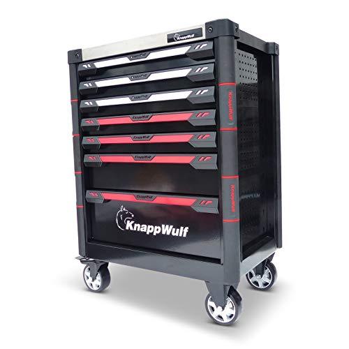 KnappWulf Werkzeugwagen KW534 Werkstattwagen Werkzeugkoffer ohne Werkzeug Werkzeugkiste