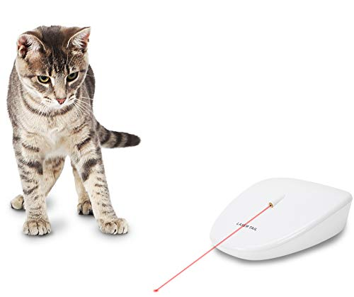 PetSafe Laser Tail Automatic Laser Cat Toy, Fun Laser Light Game for Cats (Packaging May Vary)