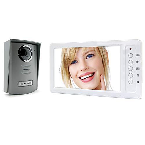Avidsen 642168 - Interfono con vídeo, color blanco