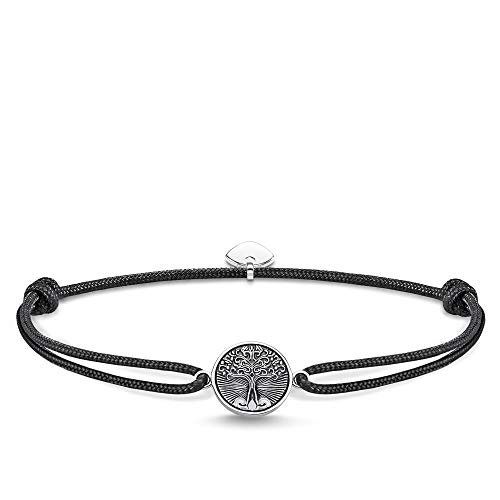 Thomas Sabo Unisex-Armband Little Liebesbaum Secret Tree of Love 925er Sterlingsilber geschwärzt LS089-907-11-L22v