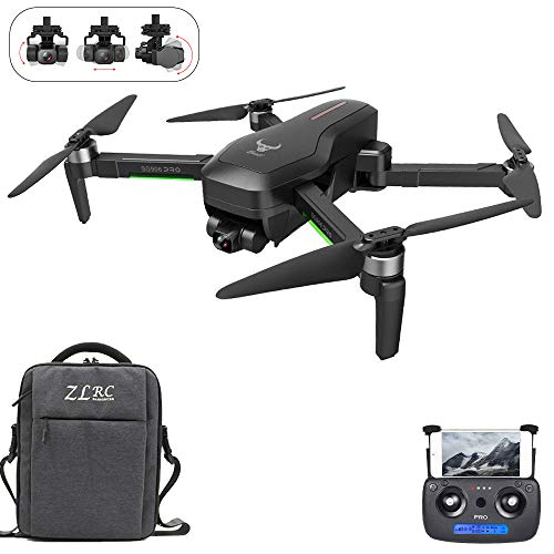 GoolRC Beast SG906 Pro 2 GPS RC Drone con Cámara 4K Cardán de 3 Ejes Motor sin Escobillas 5G WiFi FPV Posicionamiento Flujo óptico Cuadricóptero Punto Interés Vuelo 1200m Distancia Control con Bolsa