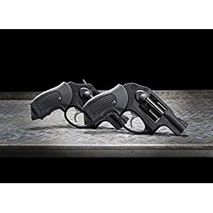 Pachmayr 02607 Polymer Guardian Grip, Ruger LCR, Black