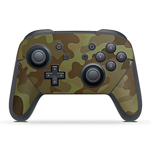 DeinDesign Skin kompatibel mit Nintendo Switch Pro Controller Folie Sticker Camouflage Tarnmuster Bundeswehr