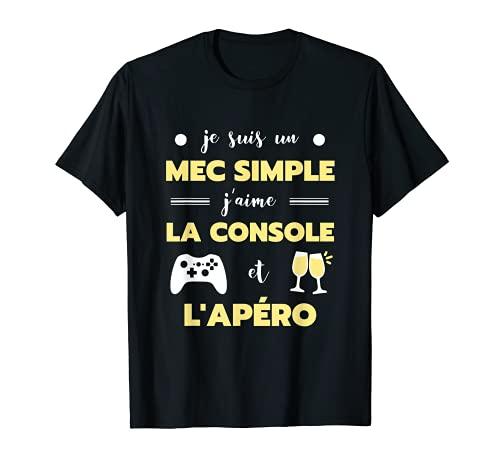 Homme Mec simple console humour ...
