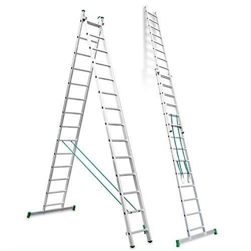 Escalibur | ES.DOBLE | Escalera de Aluminio | Escalera 14 Pe