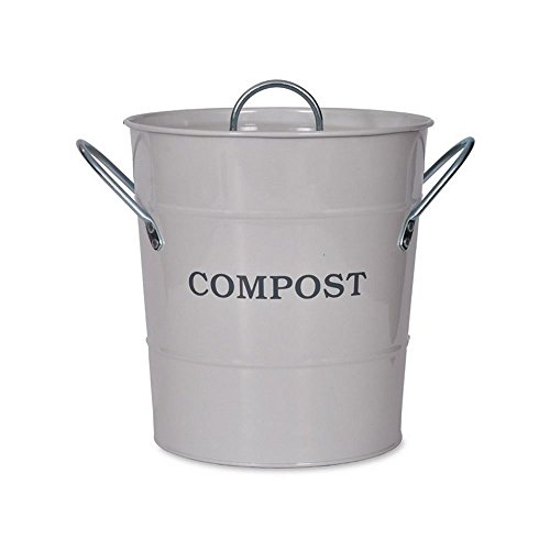 Find Bargain Garden Trading 1 x Compost Bucket, us:one Size, Chalk