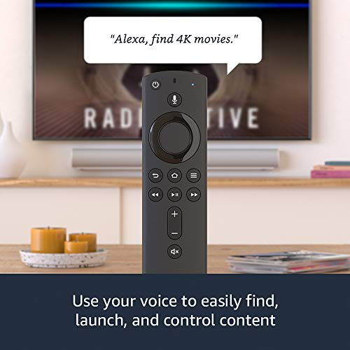 Fire TV Stick 4K streaming device with Alexa Voice Remote | Dolby Vision | 2018 release