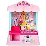 COSTWAY Spielautomat Süßigkeiten Automat Candy Grabber Greifautomat Greifmaschine 33,5x21x37cm mit...