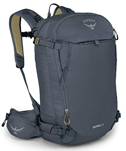 Osprey Sopris 30 Women's Ski Backpack, Tungsten Grey, One Size