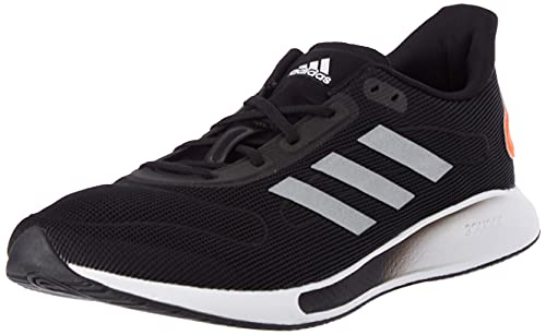 adidas GALAXAR Run M, Zapatillas de Running Hombre, NEGBÁS/Plamet/Rojsol, 47 1/3 EU