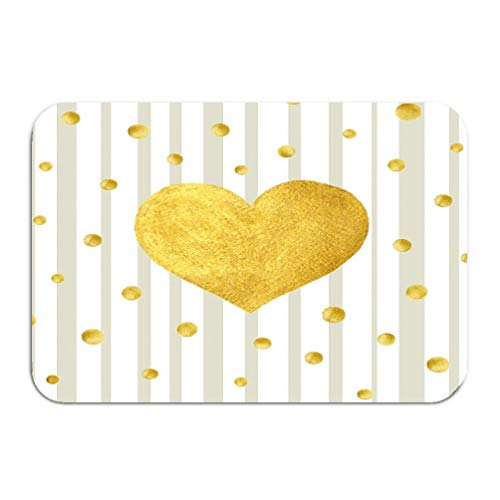 "24x16/"" Valentine/'s Love You salle de bain tapis Paillasson Tapis de bain cuisine Floor Rug"