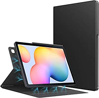 Smart Folio Case Fit Samsung Galaxy Tab S6 Lite P610 / P615 , Slim Lightweight Smart Shell Stand Cover, Strong Magnetic Ad...