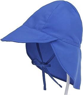 JJSPP Baby Sun Hat Adjustable Summer Baby Cap for Boys Travel Beach Children Hats (Size : Small)