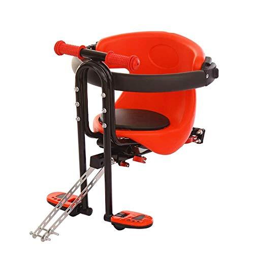 Fiets kinderzitje, Quick Release Veiligheidsstoel voor met handvat en pedaal voor fiets en elektrische fiets