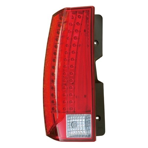 Go-Parts - for 2007 - 2014 Cadillac Escalade Rear Tail Light Lamp Assembly / Lens / Cover - Left (Driver) Side - (Gas Hybrid + Flex Hybrid) 22884387 GM2800232 Replacement 2008 2009 2010 2011 2012