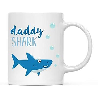 Andaz Press Baby Shark Family with Kids Coffee Mug Collection