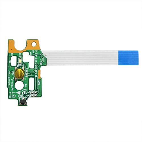GinTai Power Switch On-Off Button Board with Cable Replacement for HP Pavilion 15-F Series DA0U83PB6E0 776780-001 -  NE0684-2