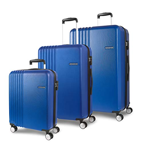 American Tourister Beachrider Suitcase Set 3 Pieces 78 cm 99 L Blue (Navy)